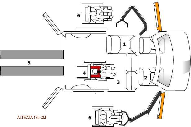 gruetta sollevapersone per veicoli gruetta sollevapersone per abitazioni gruetta sollevapersone per ambiente particolari